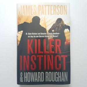 Book - Killer Instinct by James Patterson 2019!